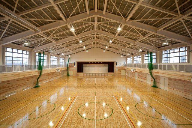 三島小学校体育館改築工事