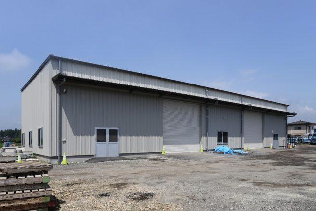 K重機建設倉庫