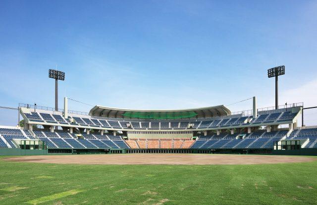 総合スポーツゾーン硬式野球場改修工事